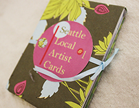 Seattle Local Artist Cards - Concept & Product Design