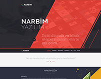 Narbim Web İnterface Design