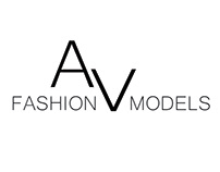 AV Fashion Models logo design