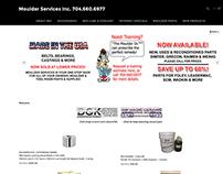 Moulder Services Online Store + Website