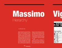 Massimo Vignelli Spreads