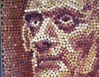 Vintage Collection (Wine Cork Art)