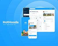 HotHoods Mobile App