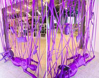Exhibition of The Next Top Victim- Installation Art