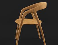 Free 3D model - Chair 001