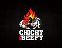 Chicky&Beefy Branding