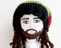 Character doll - Rasta Capoeira Man