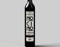 No Ci No. Walnut Liquor label.