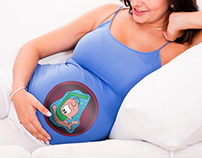 t-shirts for pregnant women - RED FISH TEES