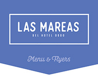 Menu & Flyers / Las Mareas (2017)