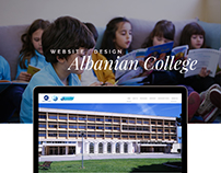 ALBANIA COLLEGE - WEB DESIGN AND DEVELOPMENT