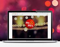 Mr. & Mrs.™ - Website Design