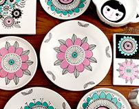 Coleção de cerâmicas
