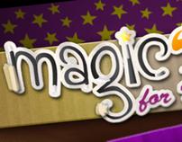 Magical E-Card Design (Interface Only)