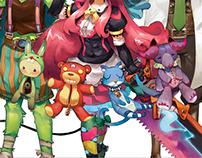 [Character Design] Nokogiri Charlotte