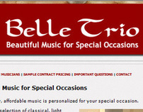 Belle Trio - Beautiful Music for Special Occasions
