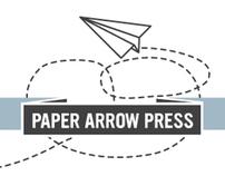 Paper Arrow Press branding