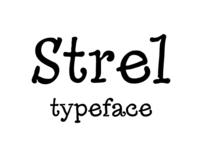 Strel typeface