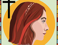 Lady Bird Illustration