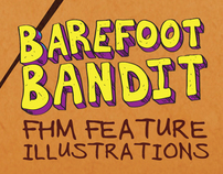 Barefoot Bandit FHM Feature Illustration