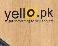 Yello.pk - Print design