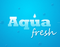 Aqua Fresh Promotional Print Design