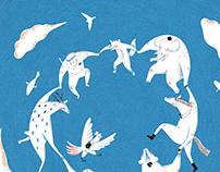 羅慧夫顱顏基金會|第22屆「用愛彌補,兒童文學獎」海報主視覺插畫