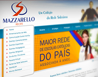 Web Site - Instituto Mazzarello - Recife