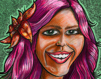 Jennifer Caricature/Cartoon Portrait