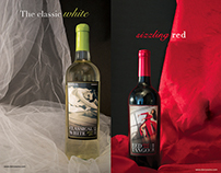 Packaging Design | Classical White & Red Tango