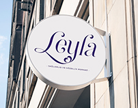 """Leyla"" Health and Beauty Center / Branding"