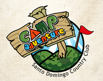 Logo for Camp adventure