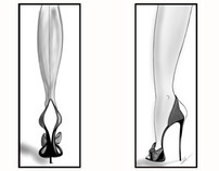 Shoe and Bag Illustrations