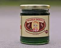 PACKAGE DESIGN: Mama Dukes Datil Pepper Jelly