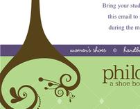 EMAIL MARKETING CAMPAIGN: Philosophie Shoe Boutique