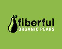 Fruit Branding: Fiberful Organic Pears