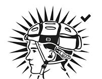 Stickers design for Morpher Helmets / Jeffrey Woolf OBE