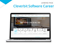 Landing Page - Cleverbit Software (Career)