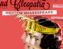 Event Poster: Antony and Cleopatra
