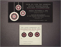 Boyle Fredrickson Holiday Party Invitation 2008