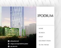 The Podium Digital Mall Directory UI