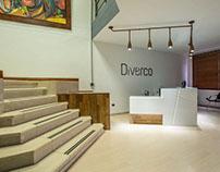 Recepción Diverco S.A. -oficinas y bodega-