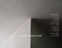 Lorde Music Album - Pure Heroine