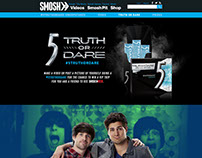 5 Gum Microsite on Smosh.com
