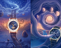 Watches artworks for GQ magazine