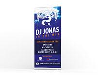 Grafikdesign / Roll-Up DJ Jonas