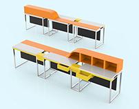 Design - Mobilier d'accueil
