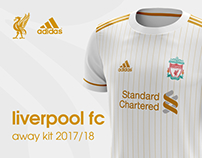 Liverpool FC away kit 2017/18