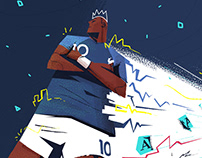 FIFA WORLD CUP 2018 - illustration