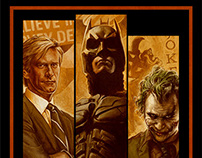 The Dark Knight - The Good, the Bat & the Ugly poster